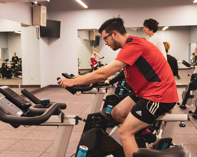 group exercise classes at SOU