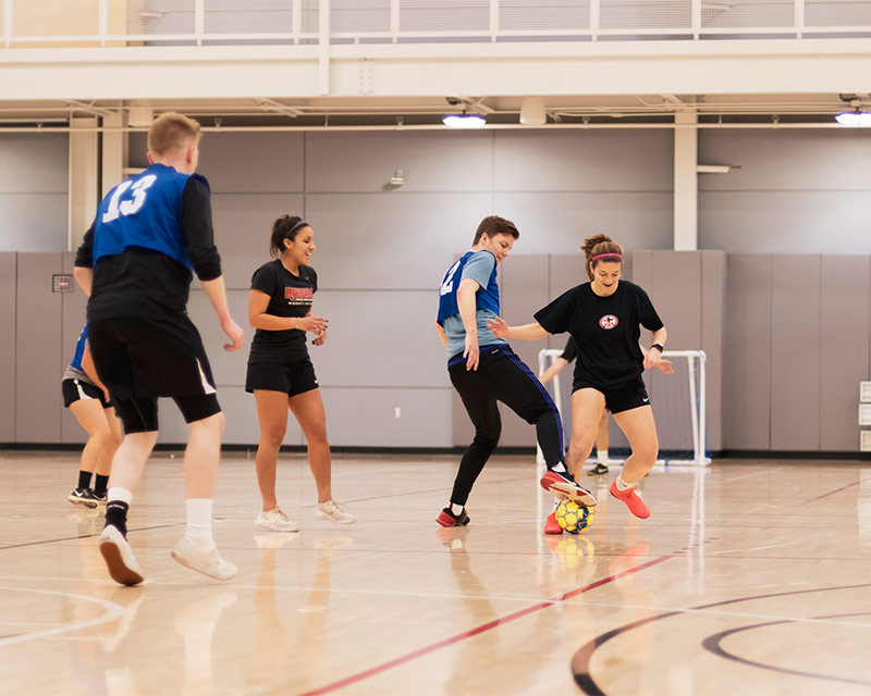 intramural indoor soccer SOU