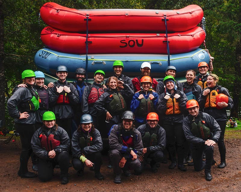 Get involved with the SOU Outdoor Program