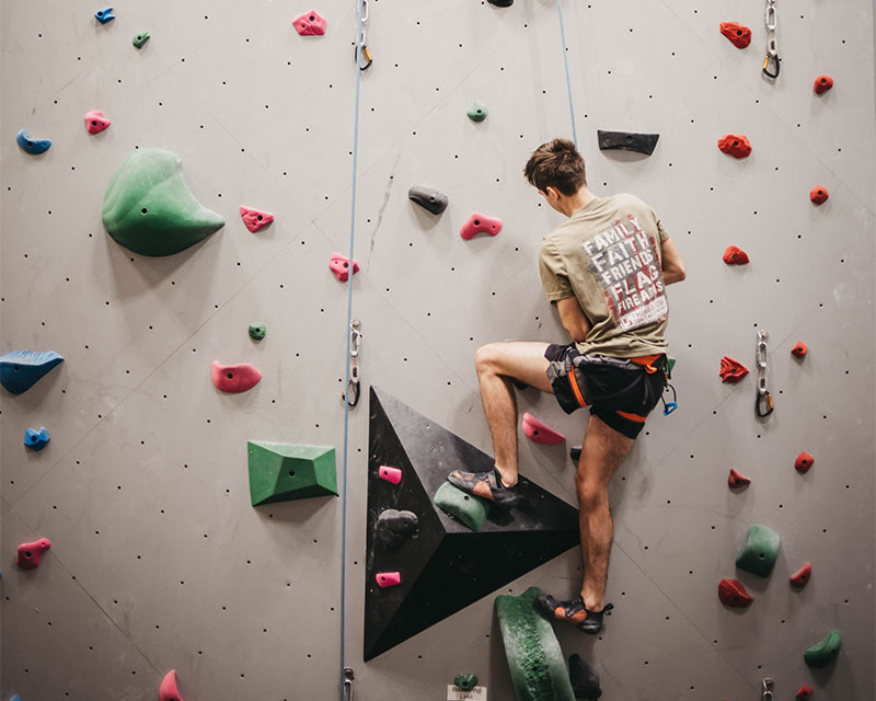 The Climbing Center at the SOU Recreation Center